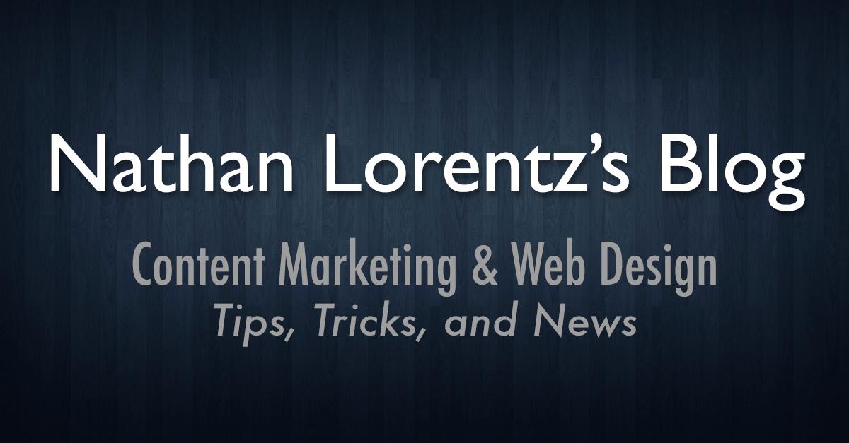 Nathan Lorentz's Blog